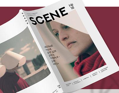 SCENE - magazine design