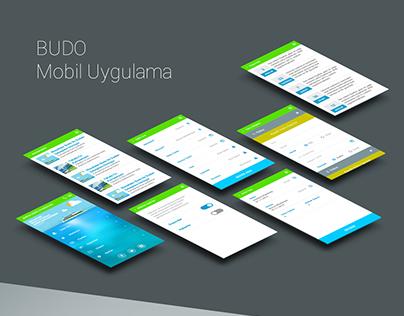 Budo Mobile App Design