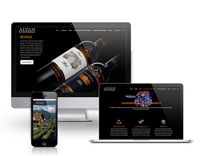 Alyan Wines Web Page