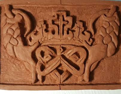 Bas Relief Tile