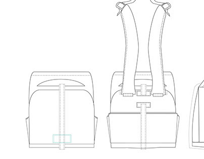 Backpack Design Renderings