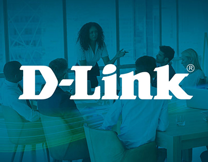 DESIGNING TWO PULL UP BANNERS FOR D-LINK