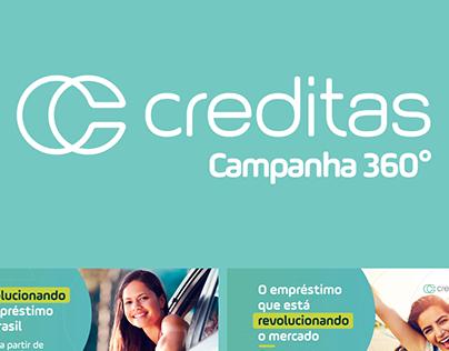 Creditas - Campanha 360º Branding & Awareness
