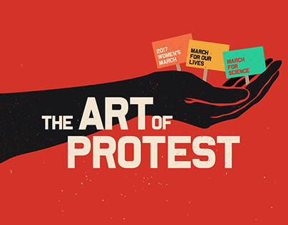 The Art of Protest Infographic