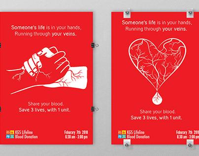 Blood Drive Posters | KGS Blood Drive