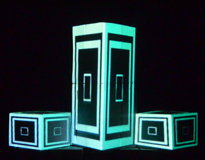 Projection Mapping Design - Point, Line and Surface