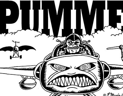 Pummel Merchandise Illustration