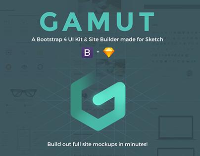 GAMUT UI & Mockup Builder