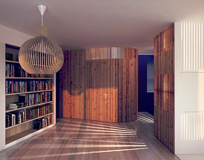 Arch Viz_Apartment in Paris
