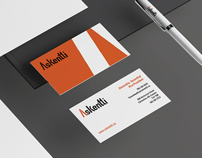 Askentti Logo and Stationary Deisgn