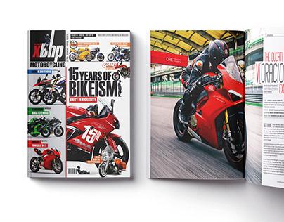 Magazine design for xBhp