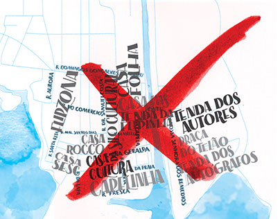 Lettering para Ilustrada | Folha de São Paulo