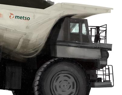 Metso Mining Illustration