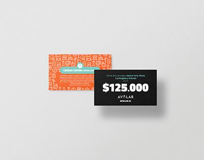 Gift Cards Avolar