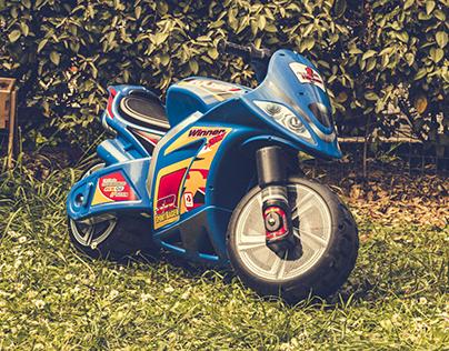 Moto Enfant - projet pour le plaisir (confinement)