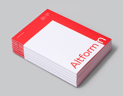 Altform Typeface and Specimen Book