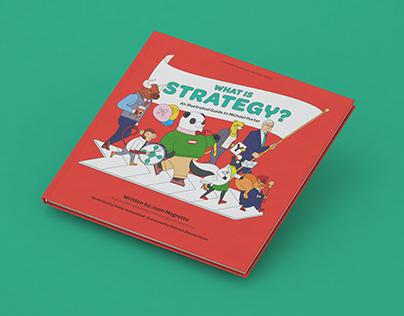 What is Strategy? Illustrated book