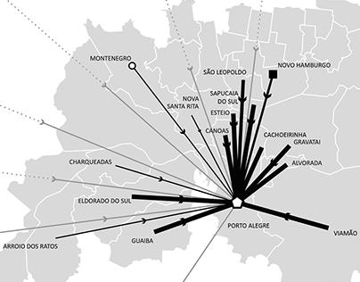 redes metropolitanas e policentrismo
