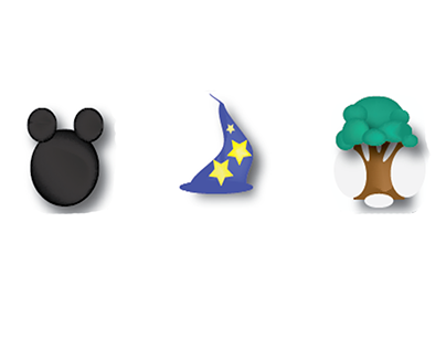 Disney World Icons for a school project