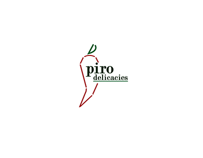 Piro Delicacies Logo, a traditional pickle start-up