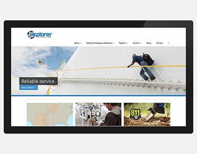 Explorer Pipeline Website