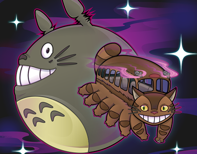 Catbus Jumped Over the Totoro
