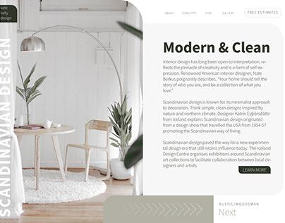 Interior Design Layout/Web