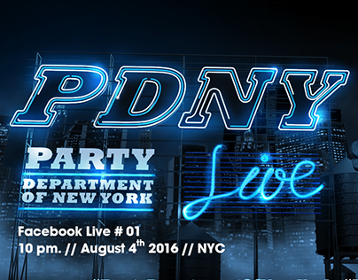#PDNY : Party Department Of New York