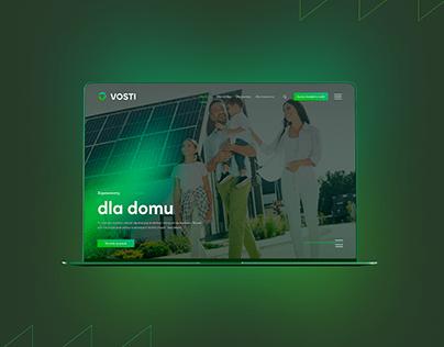 Vosti - Webdesign