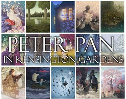 """""""Peter Pan in Kensington gardens"""" by J. M. Barrie."""