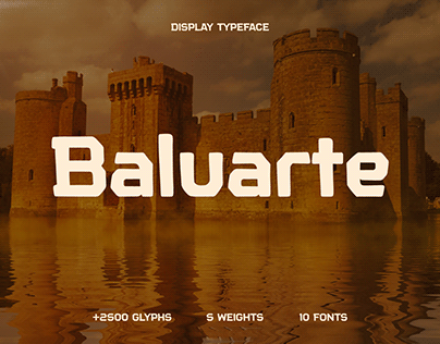 Baluarte - Display typeface
