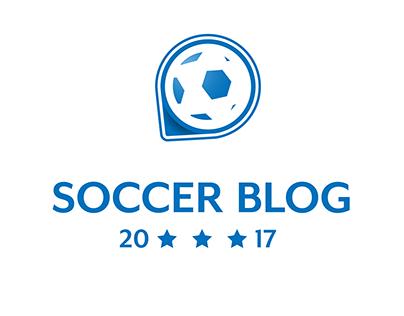 Football blog logo