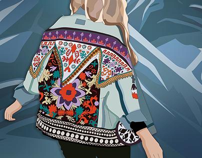 Boho Fashion | Digital Illustration
