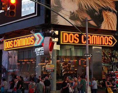 DOS CAMINOS TIMES SQ. ENVIRONMENTAL GRAPHICS