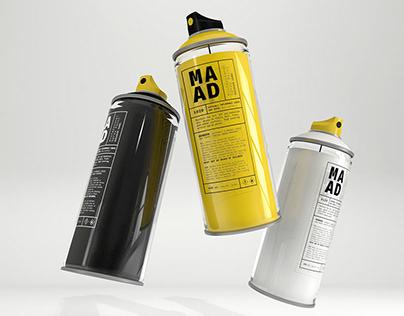 MAAD | Spraycan