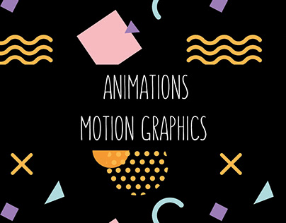 Animations / Motion Graphics