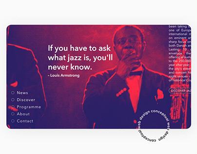 Gradient Jazz - Web Design