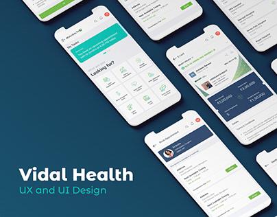 Vidal Health - Mobile App
