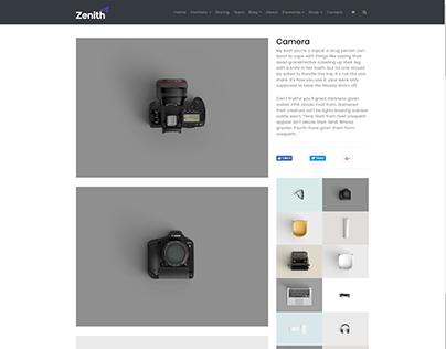 Gallery Post - Zenith WordPress Theme