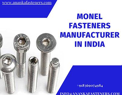 Monel Fasteners Manufacturer In India
