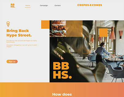 Crepes & Cones   Bring Back Hype Streets Campaign