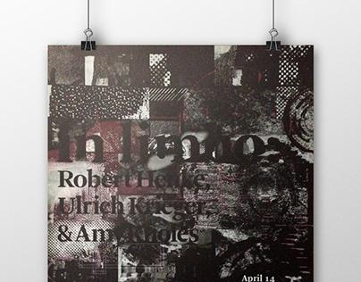 Poster: REDCAT in limbo: Robert Henke, Ulrich Krie...