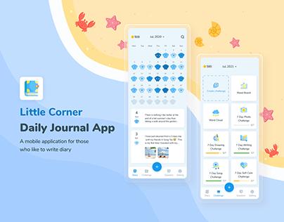 Little Corner - Daily Journal App