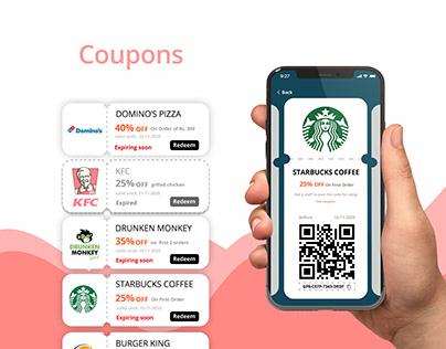 Coupon App UI/UX Design