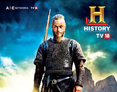 Newspaper ad - Vikings show on HistoryTV-18