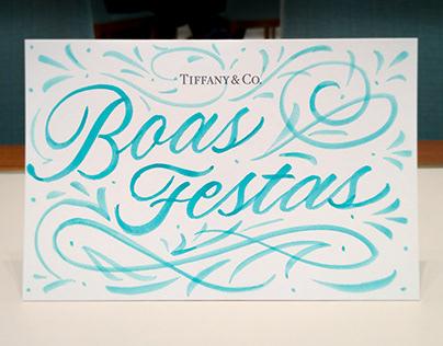 Tiffany & Co Live Calligraphy | Ação de Caligrafia
