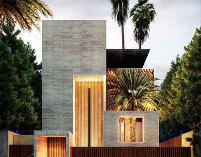 Palm Villa by Ahmet Abdurrahman