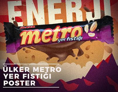 Ülker Metro - Yer Fıstığı Poster