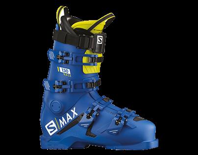 S-MAX Salomon ski boots