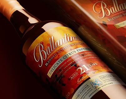Ballantine's Delicate Citrus 21YO limited edition.